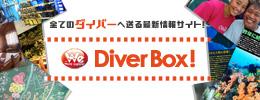ダイビングの最新情報 Diver Box!