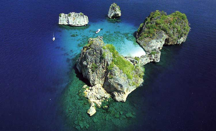 ランタ島のダイビング情報1-1