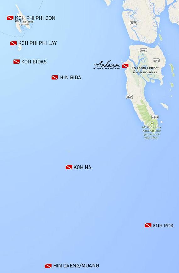 ランタ島のダイビング情報1-2