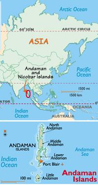 インド・アンダマン諸島のダイビング情報1-1