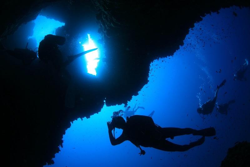 タオ島のダイビングスタイル3-1