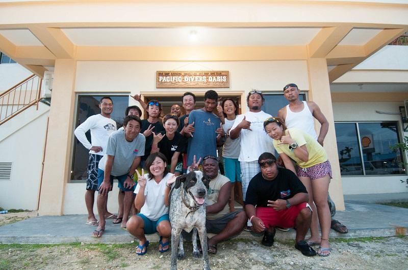 パラオで体験ダイビングは一番の実績!!3-1