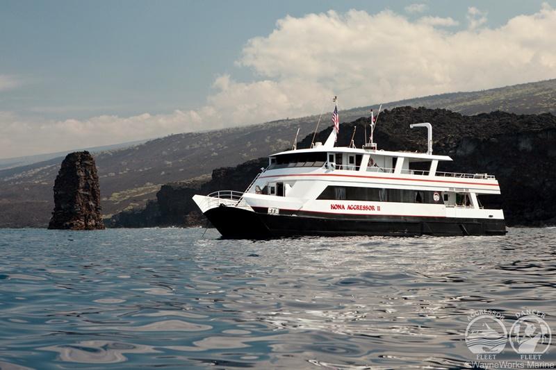 【ハワイ】ビックアイランド『ハワイ島』を潜るコナアグレッサーⅡ写真