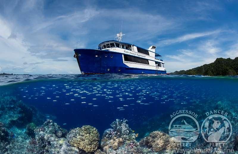 【奇跡の海】ラジャアンパットをアグレッサーで廻ろう写真