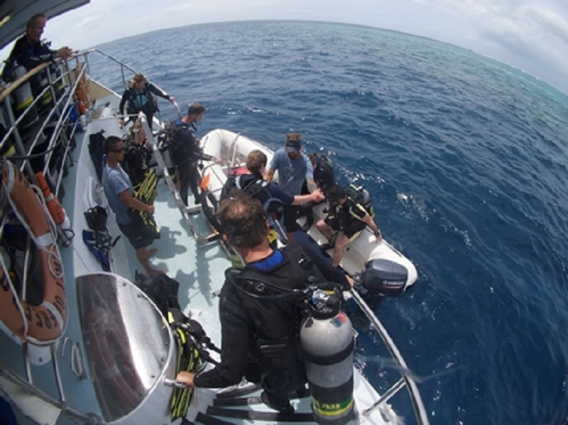【オーストラリア】世界遺産の海を潜る!スピリットオブフリーダム号7
