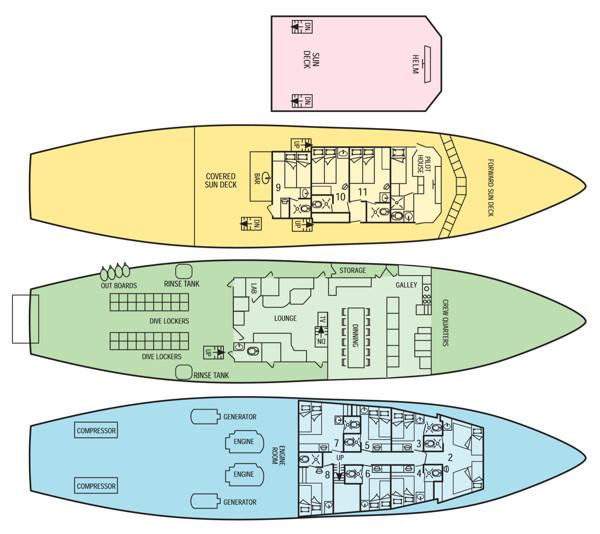 Okeanos Aggressor号4-11