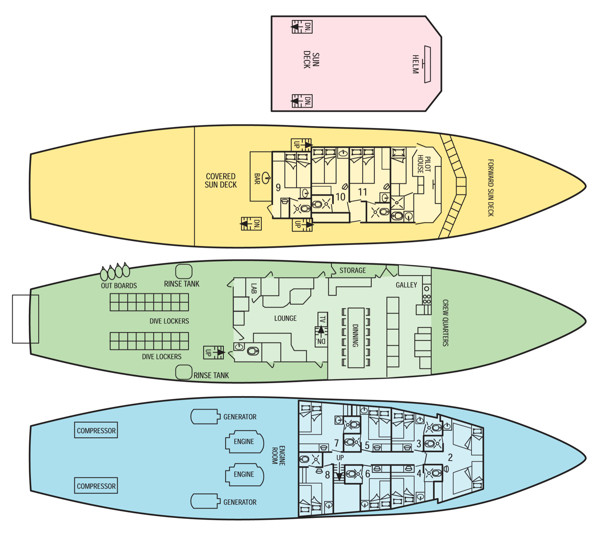 Okeanos AggressorⅠ号3-11