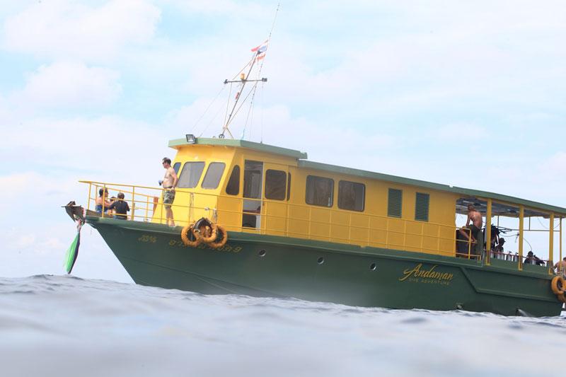 ダイビングボート4-1