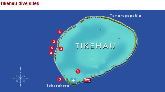 クリスタルラグーンが囲むティケハウ島!1-1