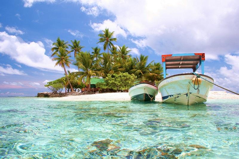 360度美しい海に囲まれたこの小さな島『ジープ島』1-2