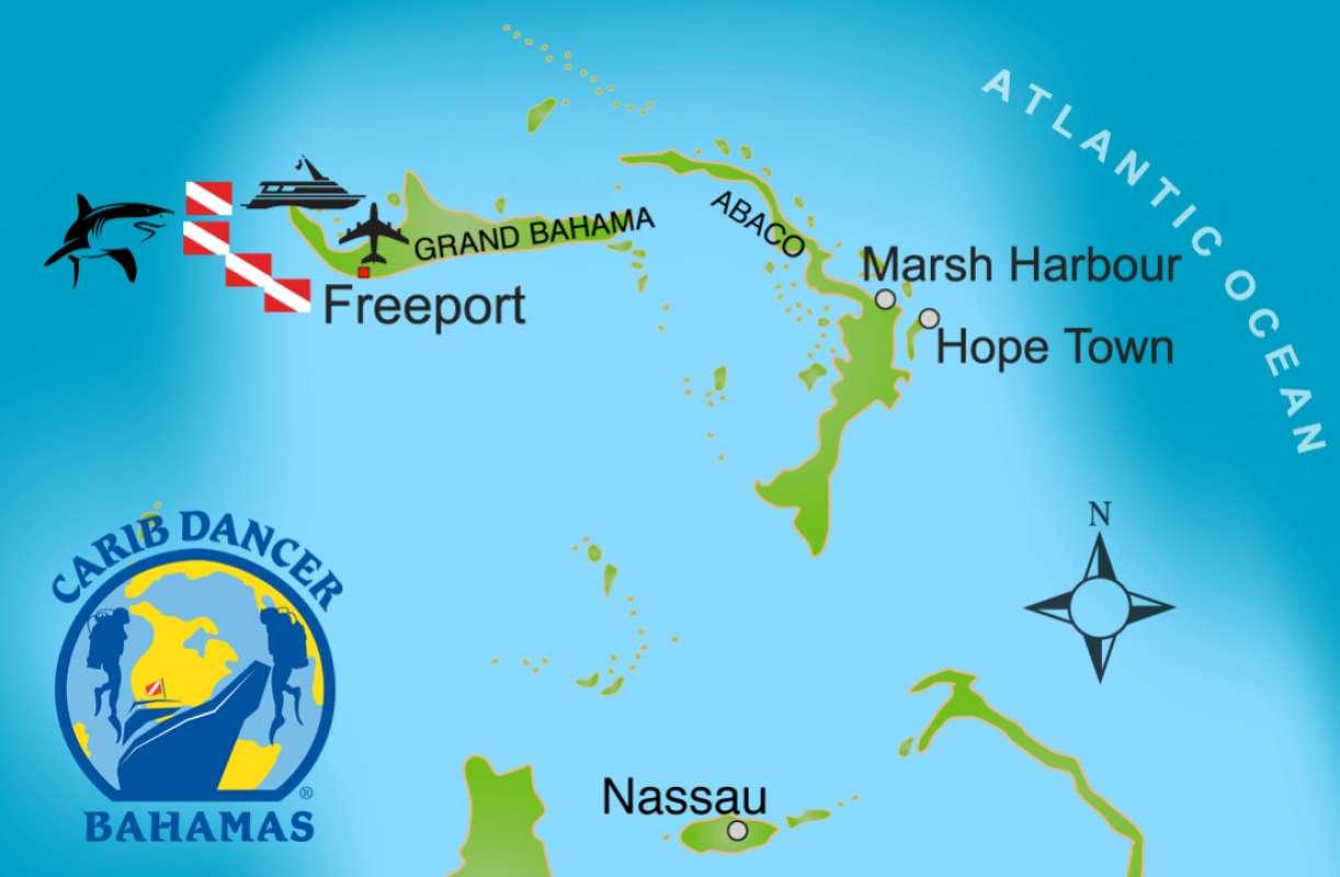 バハマタイガービーチマップ1-1