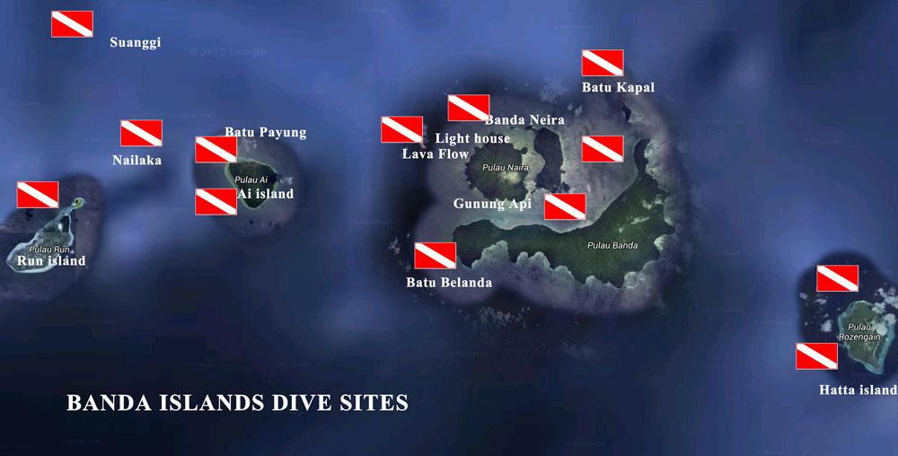 バンダ海ダイビングエリア1-1