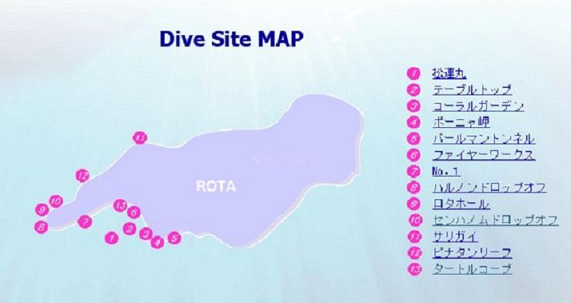 ダイビング 全体マップ10-1