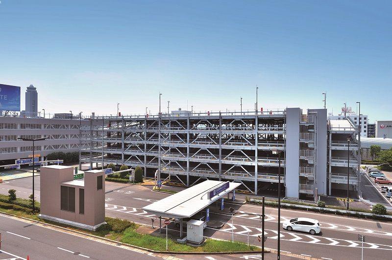 成田空港豆知識 第二弾 ~P-2駐車場に北附属棟がオープン~写真