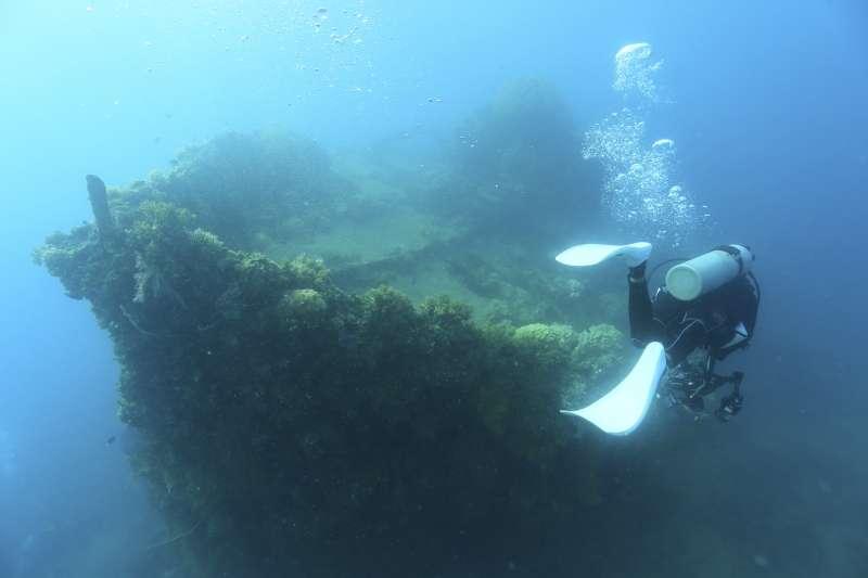 サンゴに彩られた沈船のが魅了のチューク!!2