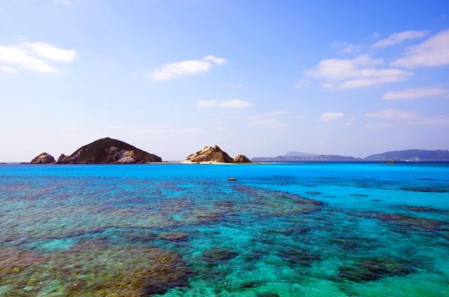 【渡嘉敷島】透明度抜群!慶良間ブルーの海♡