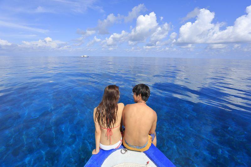 ♡ハネムーン♡ガーフ環礁ルート with アイランドサファリロイヤル写真