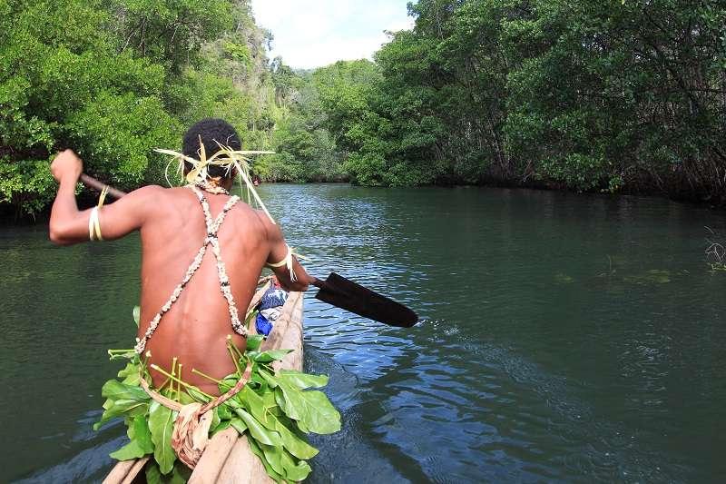 太古から続く広大なジャングルと豊かな海を持つトゥフィ!写真