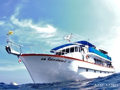 アンダマン海を知り尽くしたガイドがご案内!【オレンジブルー号】写真