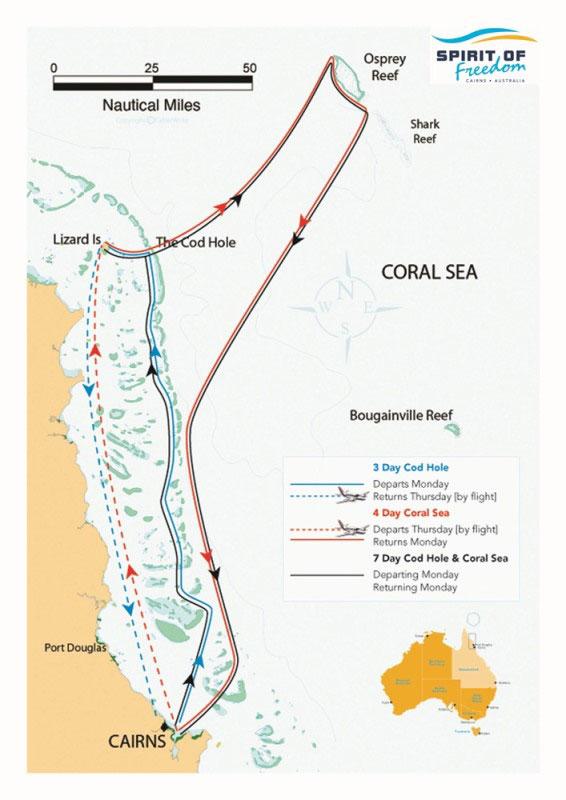 スピリットオブフリーダム号注目ダイビングポイント9-1