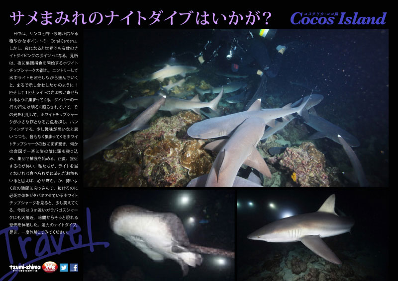 成田発 アエロメヒコ航空 ココ島  最大28ダイブ付 14日間15