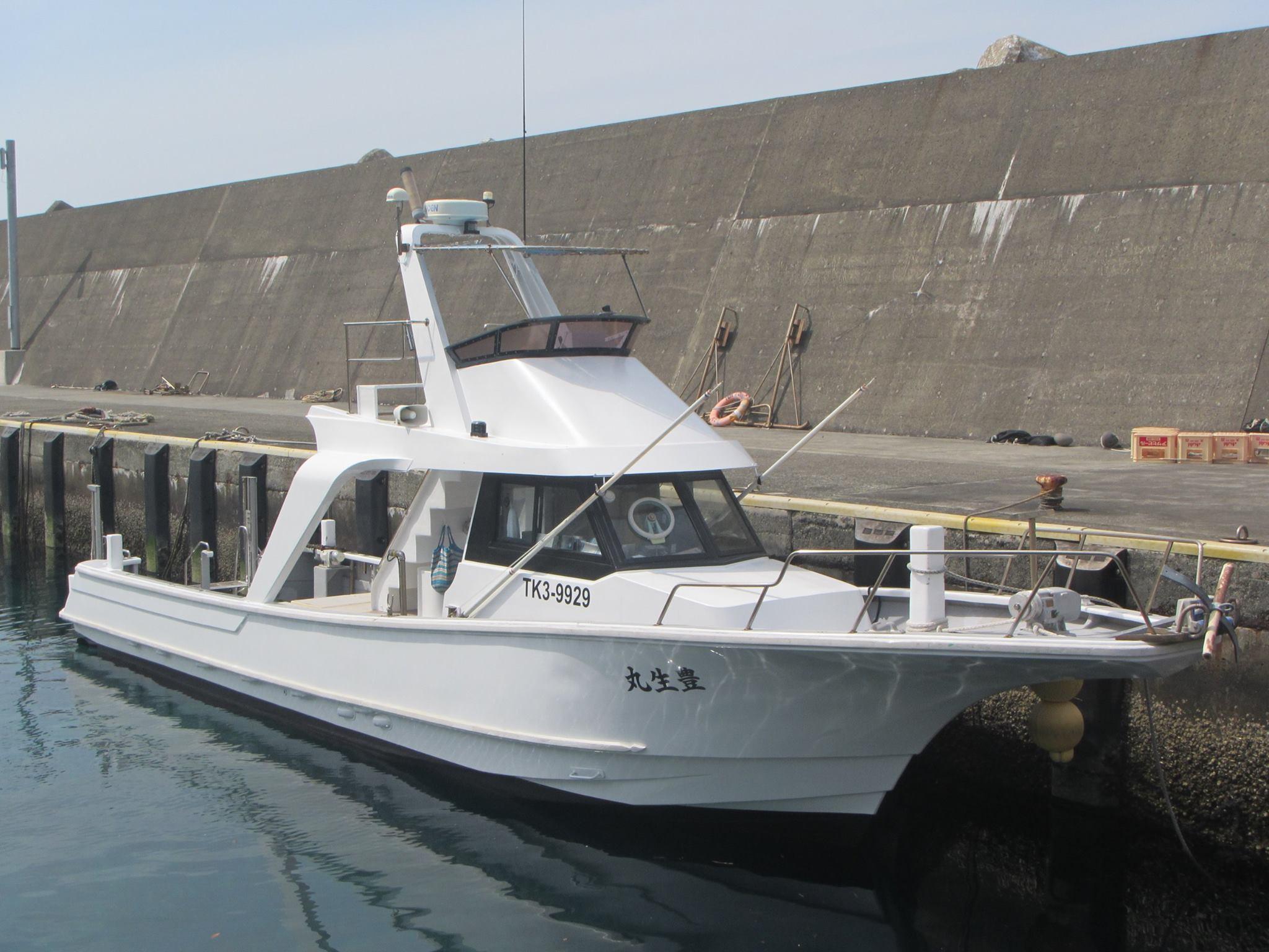 竹芝発 東海汽船(ジェット船) 利島  最大4ダイブ付 3日間4