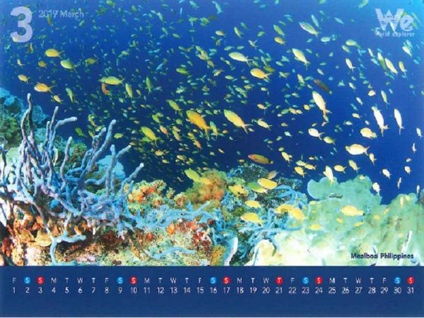 第四弾◆◇2019年卓上カレンダー企画◇◆~フィリピン・モアルボアル~